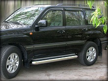 Пороги лист d-100.6 Toyota Land Cruiser 200 2012-2013